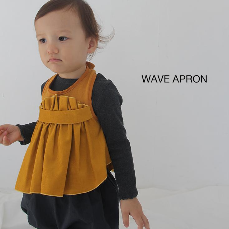 よだれかけとトップスのハイブリッド 着るよだれかけ ビブシィ ベビー服 おしゃれ よだれかけ トップス 出産祝い ベビーギフト WAVE ビブシィガールズ 販売実績No.1 ALOHALOHA 60~80cm アロハロハ 女の子 BIBSY 赤ちゃん APRON 今だけ限定15%OFFクーポン発行中