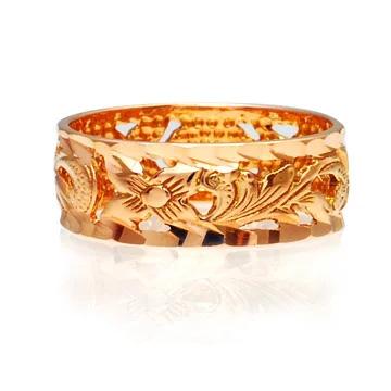 リング 指輪 ハワイアンジュエリー アクセサリー レディース 女性 メンズ 男性 K14ゴールド ピンクゴールド リング 指輪 5号/8号/13号/17号 Princess 透かし柄 ambrig09crpg [sd]