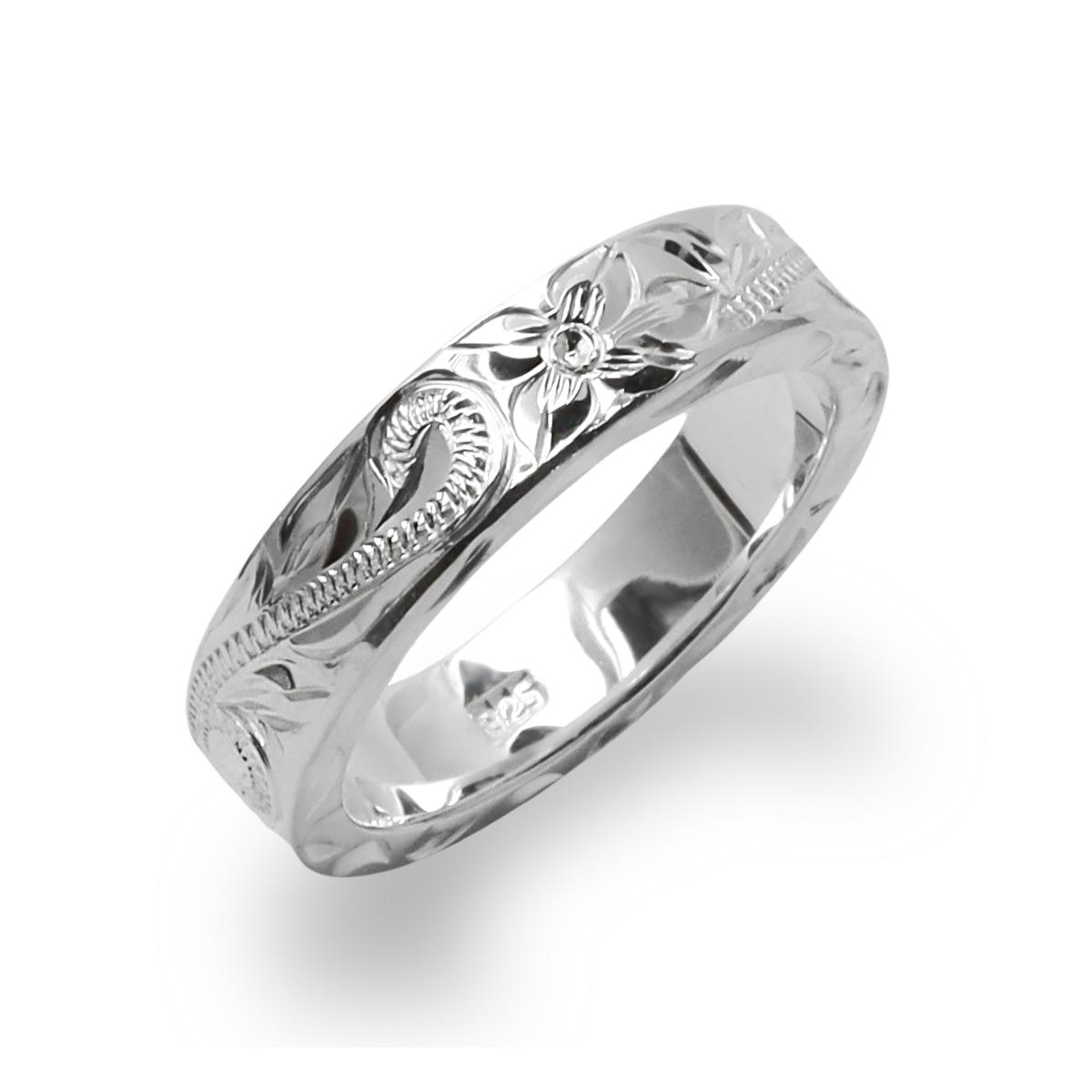 激安 文字刻印無料 厚み2mmの心地よい重量感シルバー925 数量限定 ハワイアンジュエリー リング ring アクセサリー メンズ 格安 フラットヘビーmiddleリング レディース 女性 男性 enlri5244sv ペアリングにオススメ
