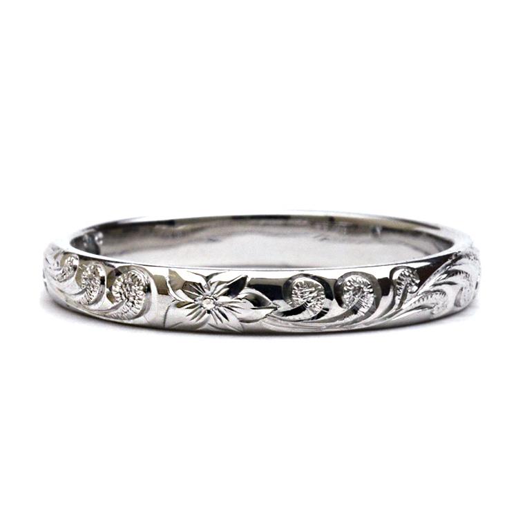 (Weliana)ONLYONE マリッジリング 結婚指輪 ハワイアンジュエリー リング レディース 女性 メンズ 男性バレル プラチナ リング (幅3mm/厚み1.5mm) crp001mili オーダーメイド ハンドメイド