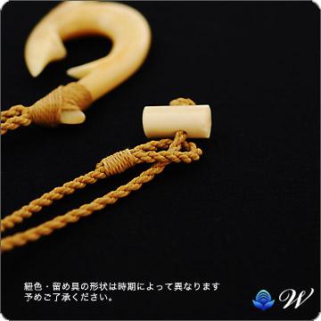 Hawaiian jewelry Necklace (Welina) bornecarvingnecklace Te Manaia (L) wnboca2