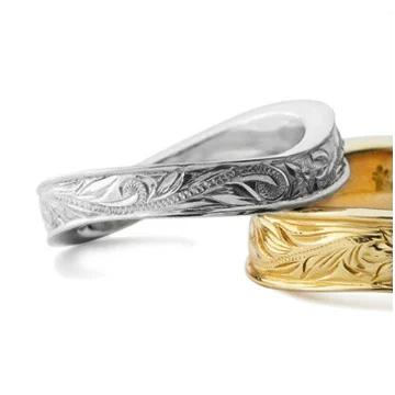 指輪リング ハワイアンジュエリー レディース 女性 メンズ 男性 [Maxi]マキシ WAVEリング4mm シルバー 925 mxri0147sv