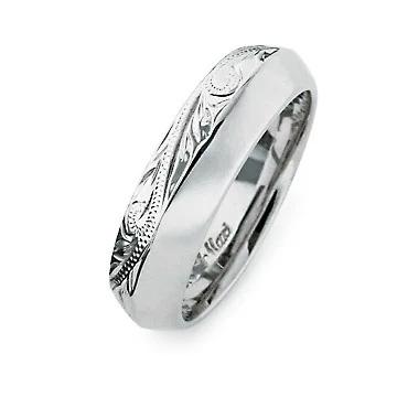 指輪リング ハワイアンジュエリー レディース 女性 メンズ 男性 [Maxi]マキシ アングルリング6mm シルバー 925 mxri0427sv