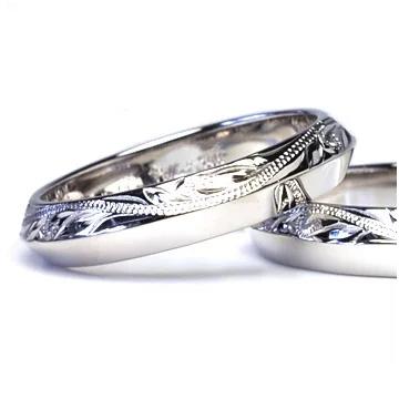 指輪リング ハワイアンジュエリー レディース 女性 メンズ 男性 [Maxi]マキシ ハーフデザインリング 幅4mm シルバー 925 mxri0428sv
