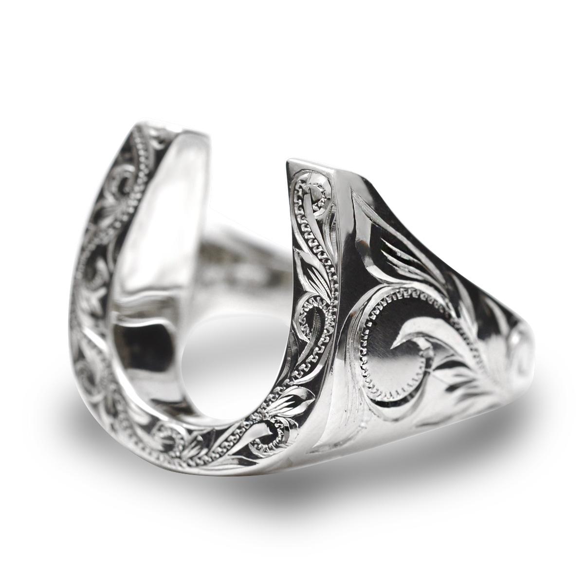 リング 指輪 ハワイアンジュエリー レディース 女性 メンズ 男性(Weliana) グラマラス ホースシュー 馬蹄 シルバーリング SILVER925 wri1372/新作