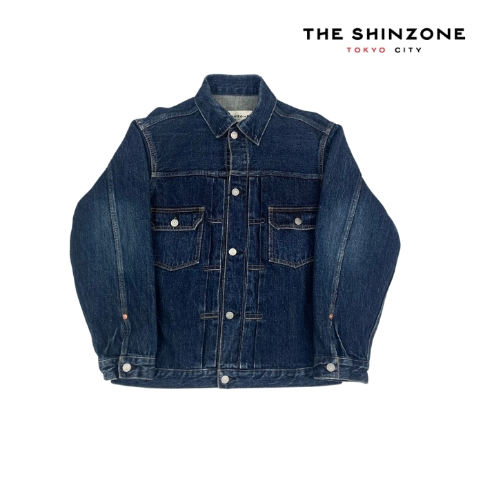 2021春夏 新作入荷 5と0のつく日はポイント15倍 購入 SHINZONE シンゾーン TYPE JACKET 日本産 DENIM 21MMSJK05 50'S デニムジャケット