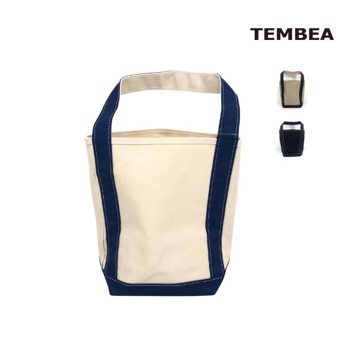 2021春夏新作 5と0のつく日はポイント15倍 TEMBEA テンベア 倉 BAGUETTE 安心の定価販売 バゲットトート TOTE バッグ TMB0985N キャンバス
