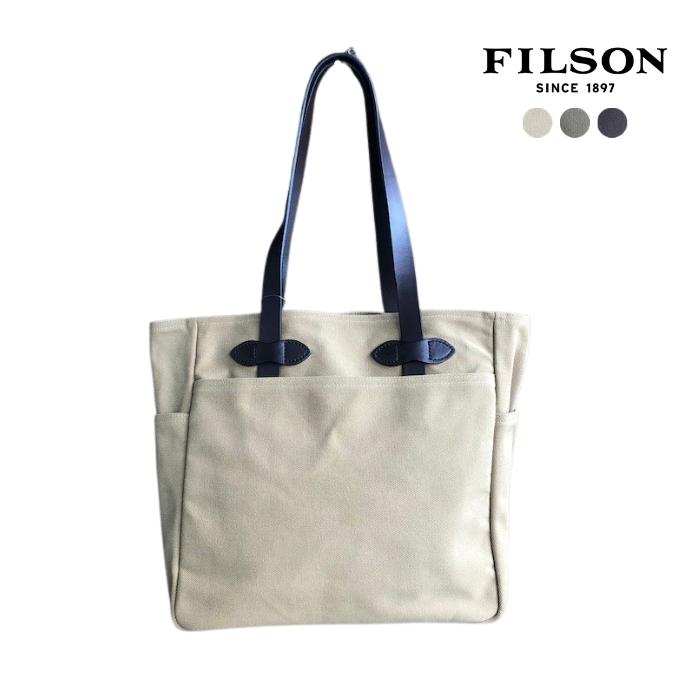 【ポイント10倍 7/4 20時まで】FILSON (フィルソン) 11070260 TOTE BAG WITHOUT ZIPPER トートバッグ ユニセックス
