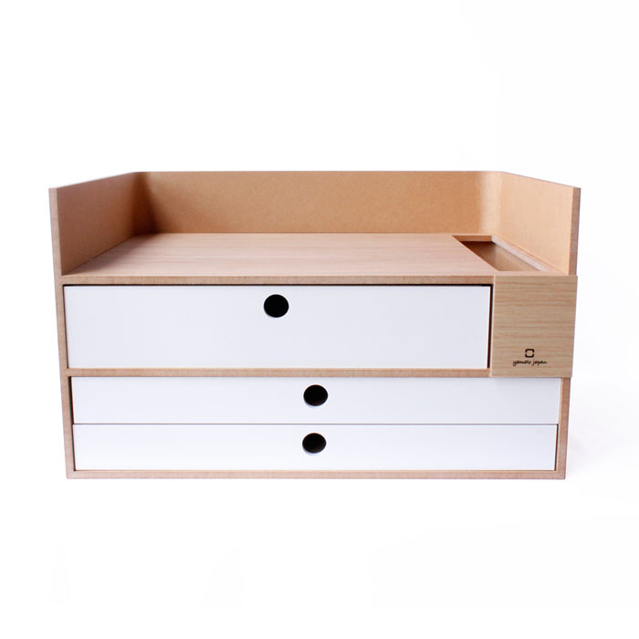 ヤマト工芸 小物入れ 収納ケース ストレージボックス storage box N ナチュラル YK19-105