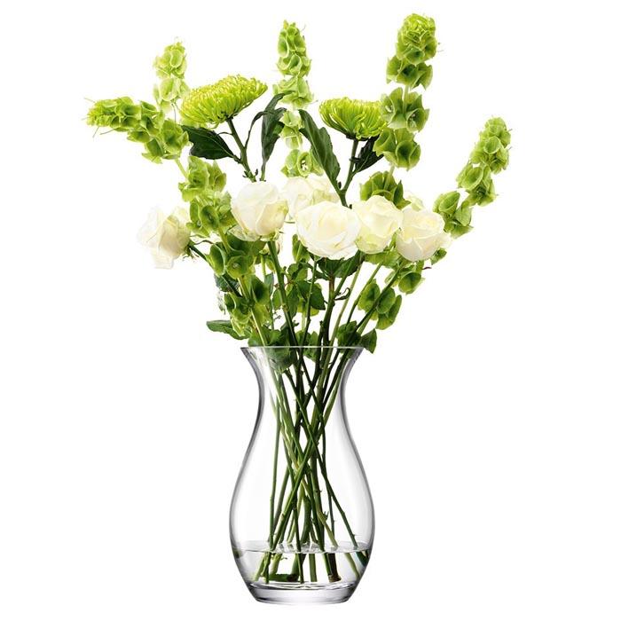 <title>スタイリッシュで綺麗なフラワーベースです LSA 花器 花瓶 フラワーベース ガラス Flower Grand Posy TLA2011 G429-32-301 クリア NEW ARRIVAL 高さ32cm</title>