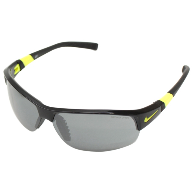 NIKE(ナイキ) EV0620 007 サングラス SHOW X2 : black/volt ゴルフ golf5 熱中症 暑さ対策 UV対策