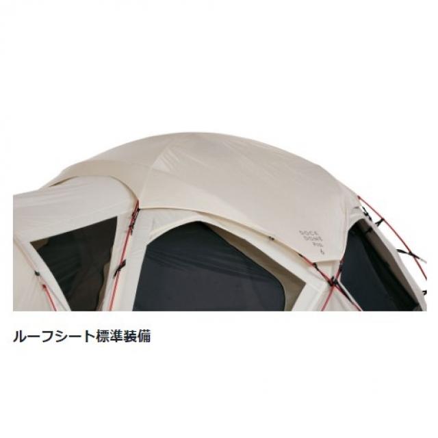 スノーピーク ドームテント ドックドームPr直径.6 : アイボリー (SD-507IV)
