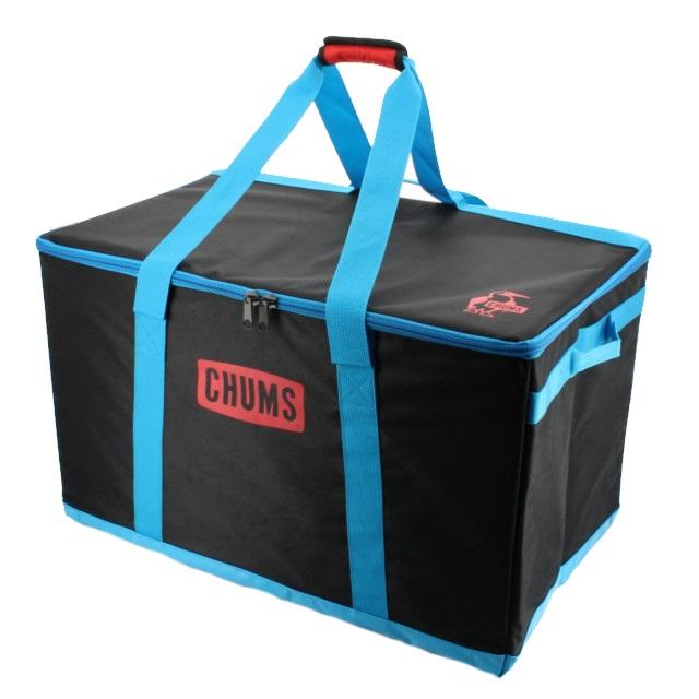 チャムス Foldable Box L (CH62-1354) フォールボックス : Black CHUMS