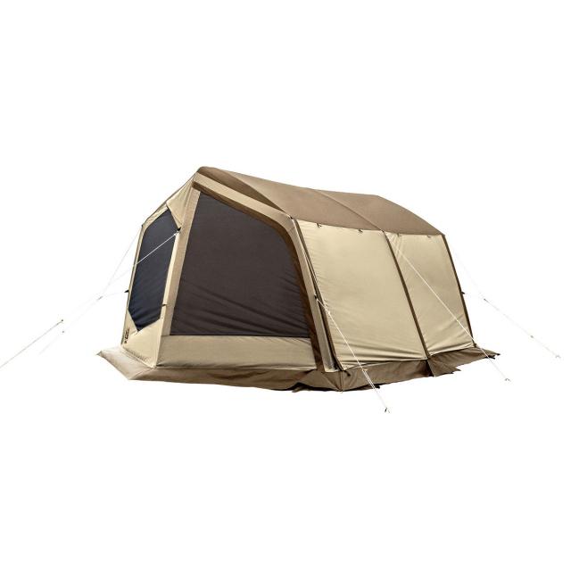 オガワテント Neo Cabin ネオ キャビン (3393) キャンプ タープテント:サンドベージュ×ダークブラウン Ogawa オガワ 小川テント