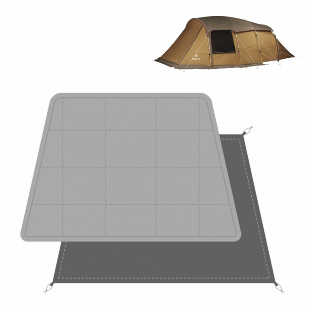 〔あす楽対象品〕 スノーピーク エルフィールド 専用マットシートセット TP-880-1 フロアマット フロアシート キャンプ テント snow peak