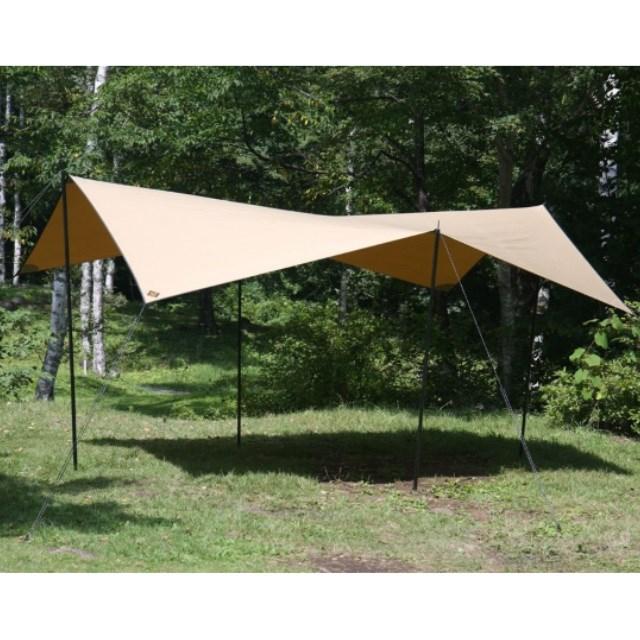 ソトラボ Cotton KOKAGE Tarp Sand Color KT SC キャンプ タープテント 2人用 3人用 4人用 サンシェード SOTO LABO