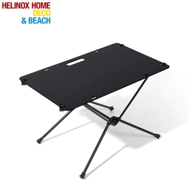 ヘリノックス テーブルワンソリッドトップ ブラック (1975001900) キャンプ テーブル Helinox