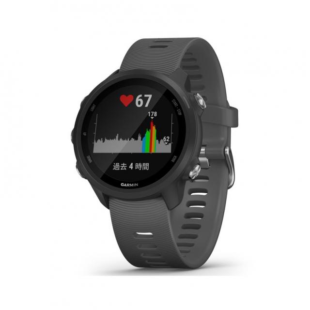 ガーミン ForeAthlete245 Black Slate (0100212042 BK) ランニングウォッチ マルチスポーツ GPSウォッチ 腕時計 GARMIN 2019xmas_watch