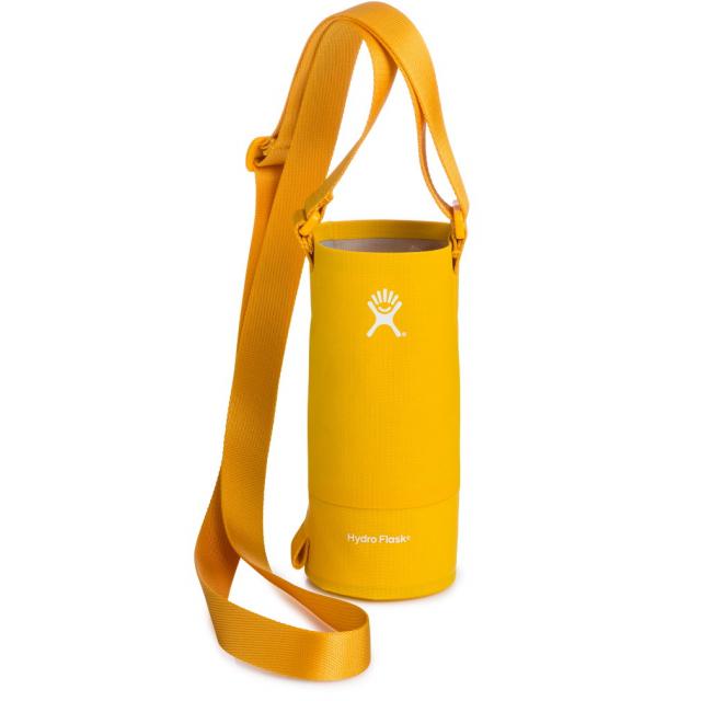 【12/25 20時~4h限定!エントリーでP10倍!】 ハイドロフラスク Bottle Sling Small 12-24oz Goldenrod (5089601 29) : ゴールド 水筒ケース Hydro Flask