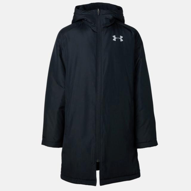 アンダーアーマー ジュニア キッズ・子供 ベンチコート UA Insulated Long Coat 1347322 001 アウター スポーツウェア UNDER ARMOUR fwouter 2019xmas_wear