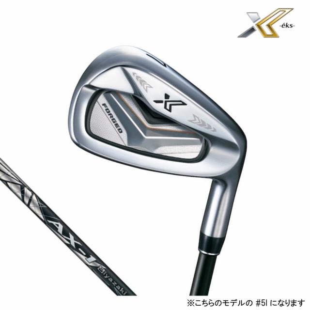 ダンロップ ゼクシオ エックス ゴルフ 単品アイアン カーボン Miyazaki AX-1 5I 21゚ 2019年モデル メンズ DUNLOP XXIO