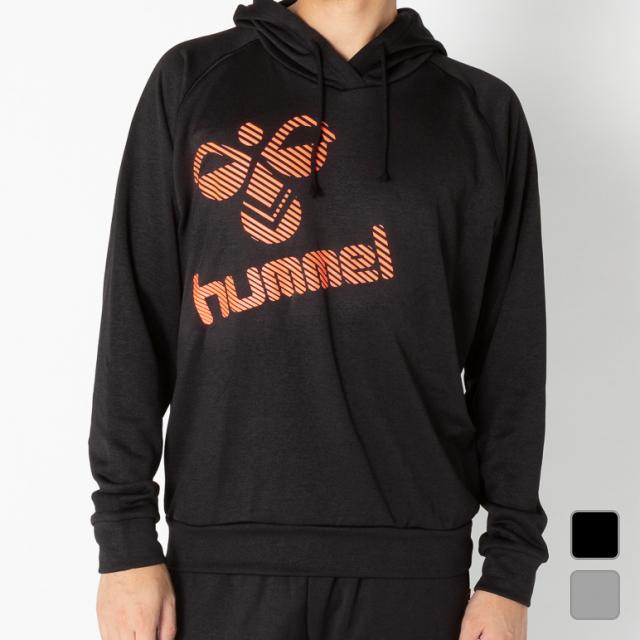 9 15 即納 買えば買うほど 最大10%OFFクーポン ヒュンメル メンズ ウォームアップシャツ ハンドボール ウラケスウェットパーカー レディース 保障 HAY7048 hummel