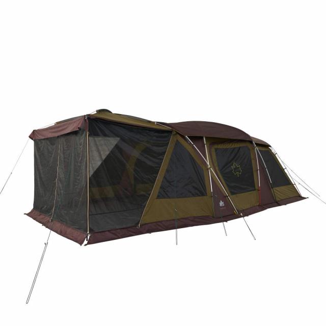 ロゴス プレミアム 3ルームドゥーブル WXL-BJ 71805536 キャンプ 3ルームテント シェルター 超大型 スクリーンテント LOGOS