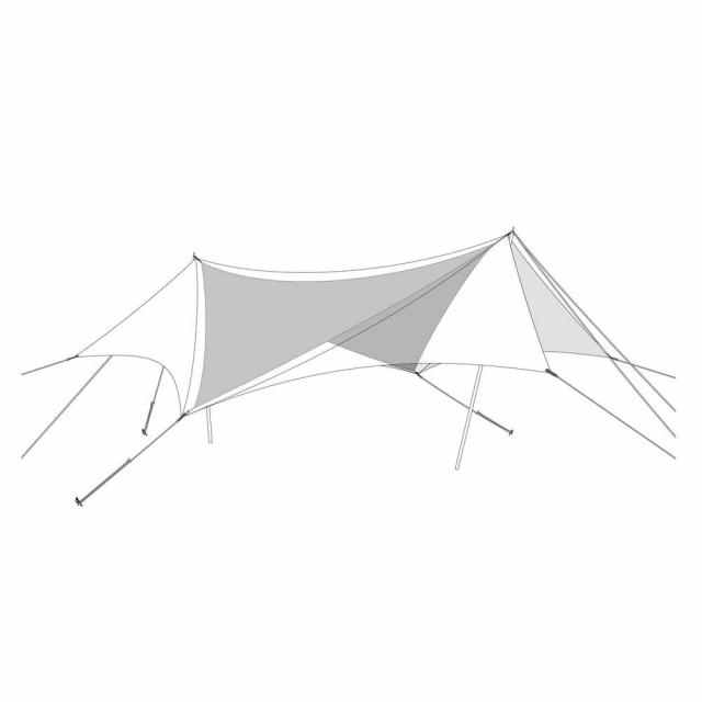 スノーピーク HDタープ ヘキサエヴォ Pro. TAKIBIインナールーフ TP-250IR キャンプ テント snow peak