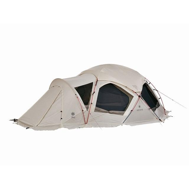 スノーピーク ドックドームPro.6 : アイボリー SD-507IV キャンプ ドームテント 大型 6人用 snow peak