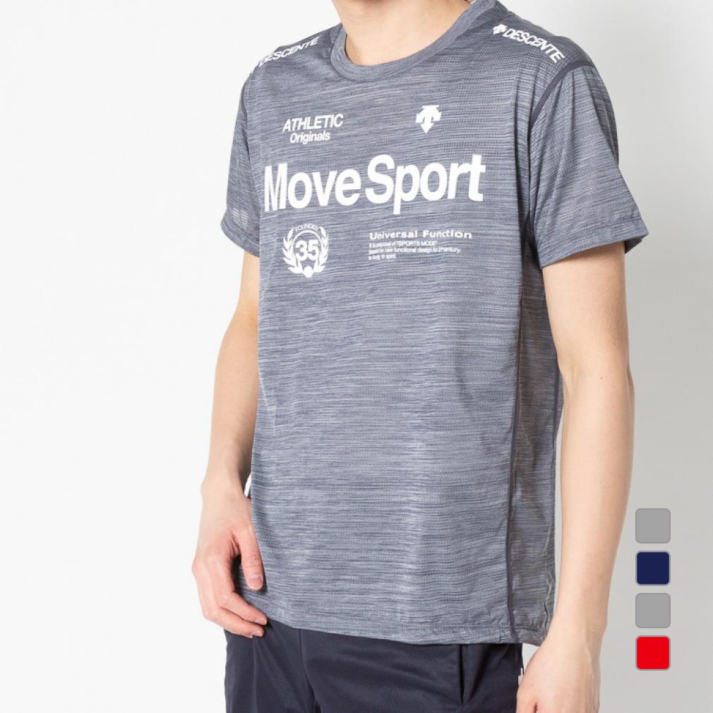 デサント 無料 メンズ 半袖機能Tシャツ ブリーズプラス 美品 Tシャツ 20clearancewear DESCENTE 0529T DMMPJA61 スポーツウェア
