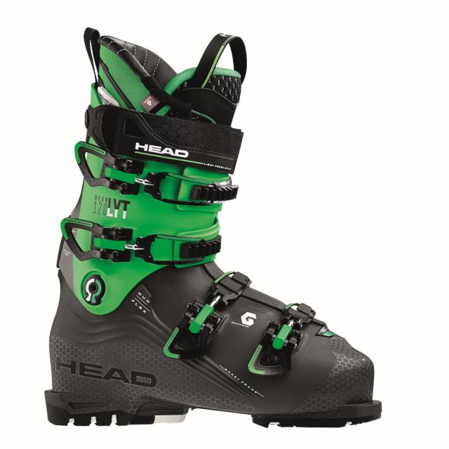 ヘッド NEXO LYT 120 (608066 An/GR) 18-19年モデル メンズ スキー ブーツ : ブラック×グリーン HEAD