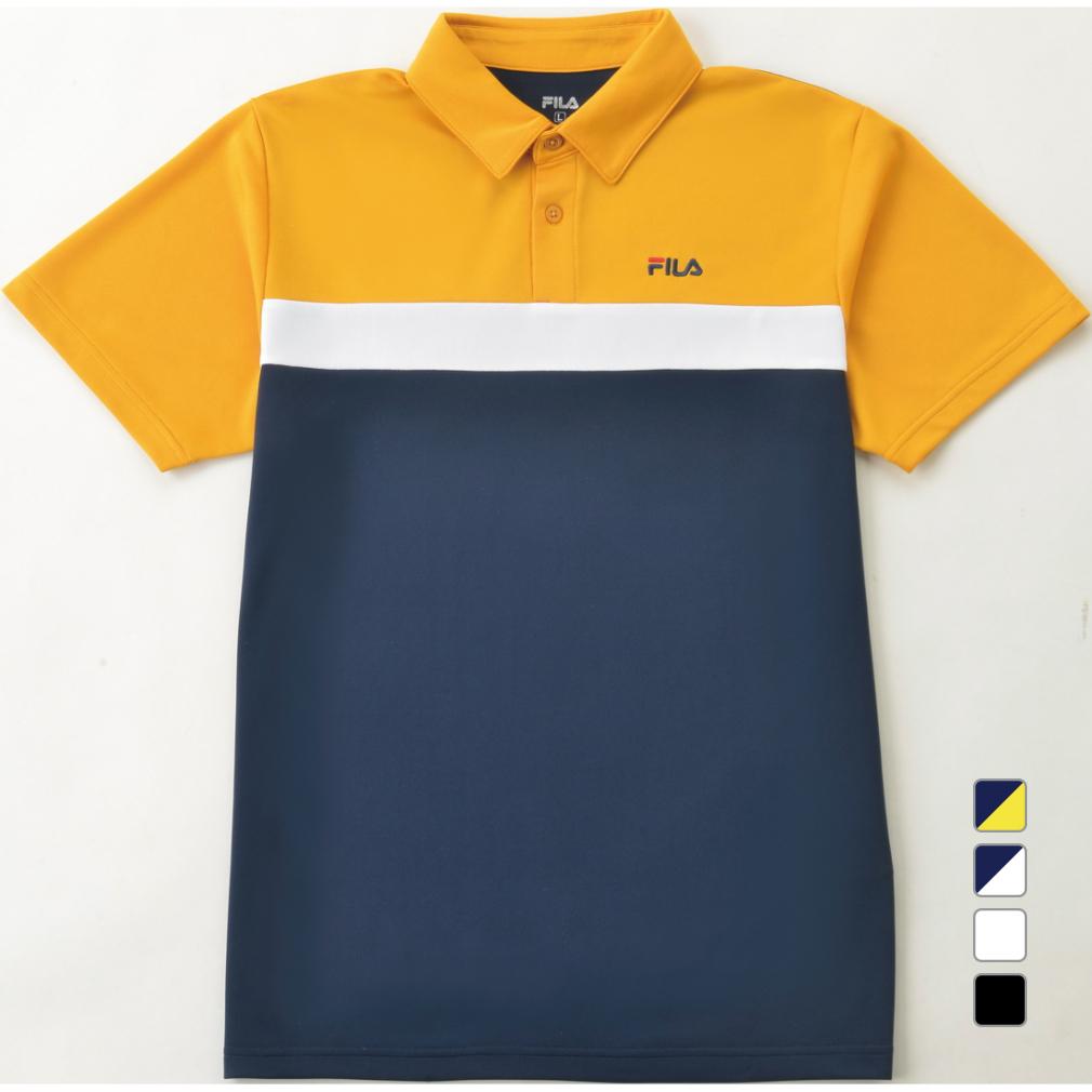 フィラ メンズ 半袖機能ポロシャツ スポーツウェア FILA オーバーのアイテム取扱☆ FL-9A10120PS 日本正規代理店品