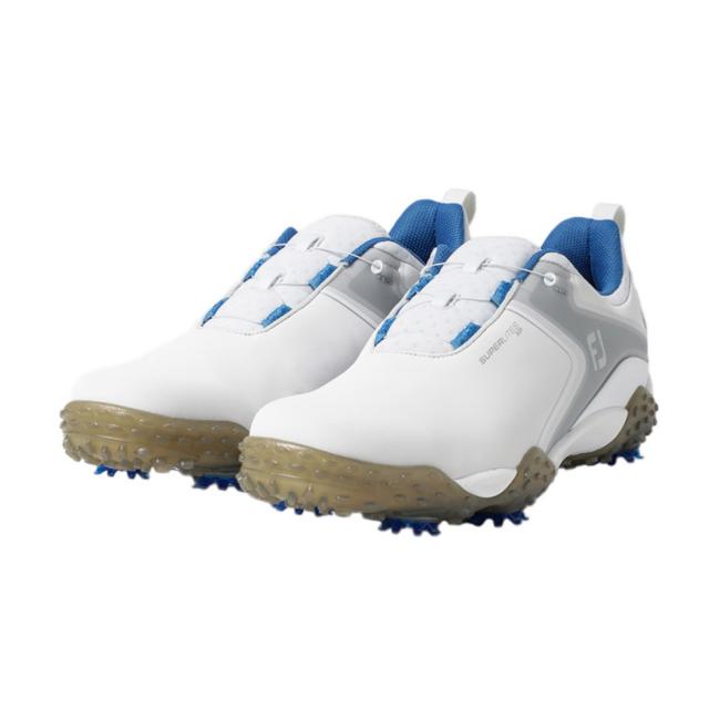 最安値に挑戦 フットジョイ ゴルフシューズ 20 スーパーライトXP WT 58077 メンズ JOY ゴルフ FOOT ダイヤル式スパイクシューズ FJ 3E 蔵 ホワイト