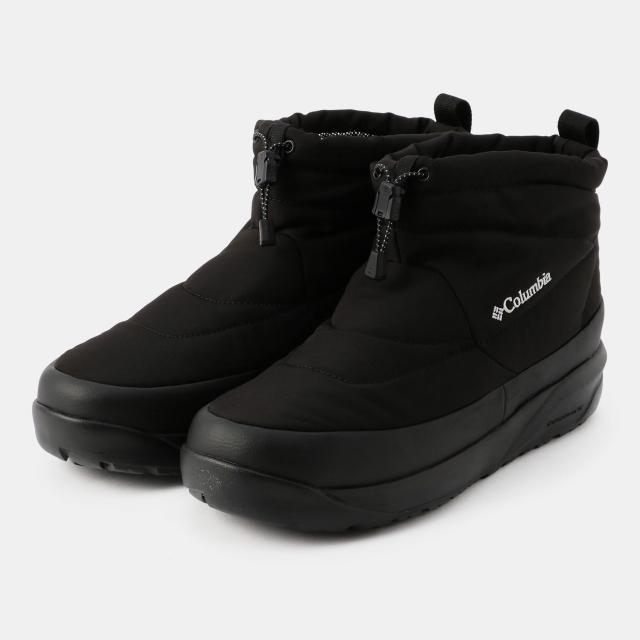 コロンビア 店 ブーツ SPINREEL MINI BOOT II WP ブラック 010 : メンズ Columbia YU0354 OMNI-HEAT 卸売り