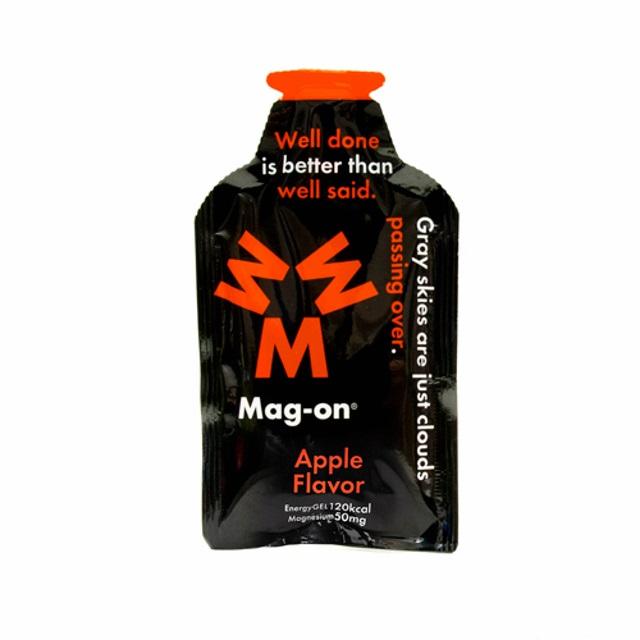 【3/5はエントリー&カードで最大P12倍】 マグオン エナジージェル アップル味 (TW210105) トレーニングフード Mag-on