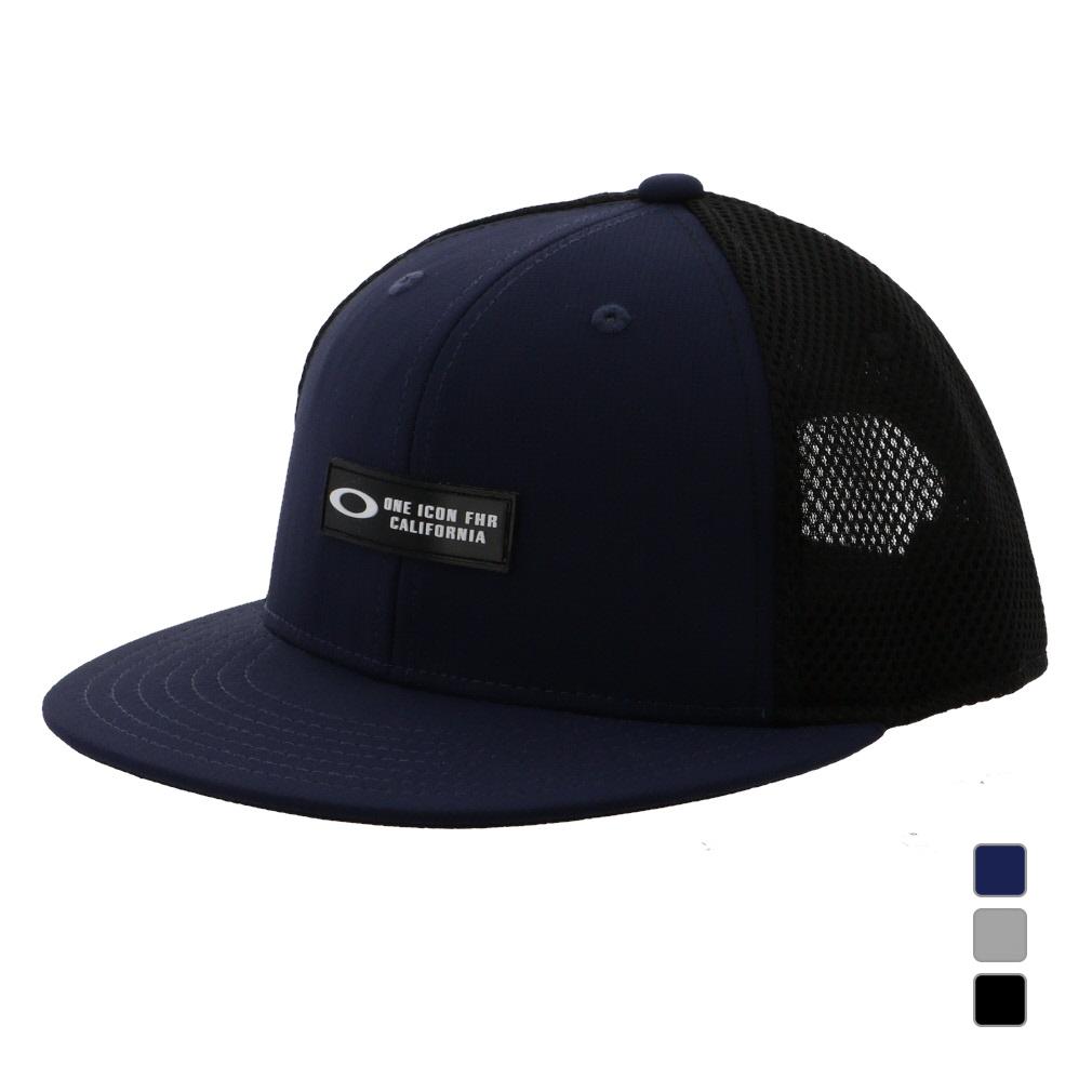 オークリー 激安通販専門店 ゴルフウェア キャップ ESSENTIAL FLAT 信頼 BRIM 15.0 OAKLEY メンズ サイズ調整はアメリカンバックル式 FOS900689 CAP