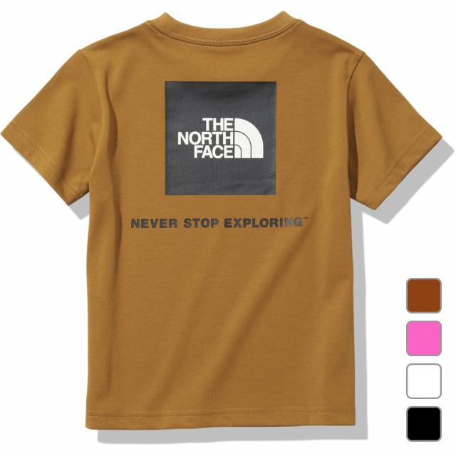 2021春夏 ノースフェイス ジュニア キッズ 子供 半袖Tシャツ S Square Tee 直営ストア FACE ショートスリーブスクエアロゴティー Logo THE NTJ32142 NORTH 驚きの価格が実現