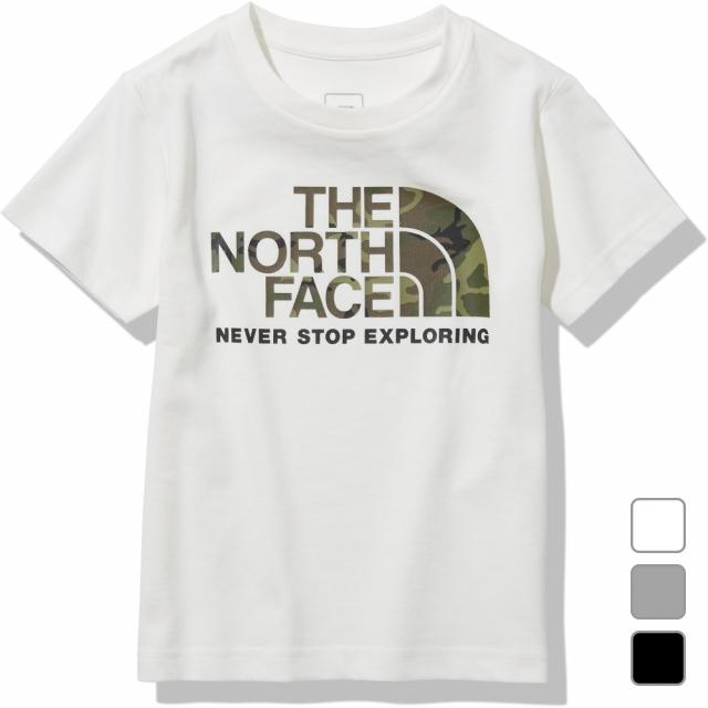 2021春夏 メーカー公式ショップ ノースフェイス ジュニア キッズ 子供 アウトドア 半袖Tシャツ 商品 S Logo FACE NTJ32145 ショートスリーブカモロゴティー THE NORTH Tee Camo