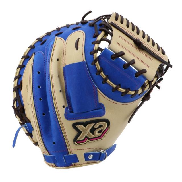 ザナックス !超美品再入荷品質至上! 軟式キャッチャーミット 正規品 ザナパワーシリーズ BRC21021SP 軟式用 XANAX キャッチャー用ミット 野球