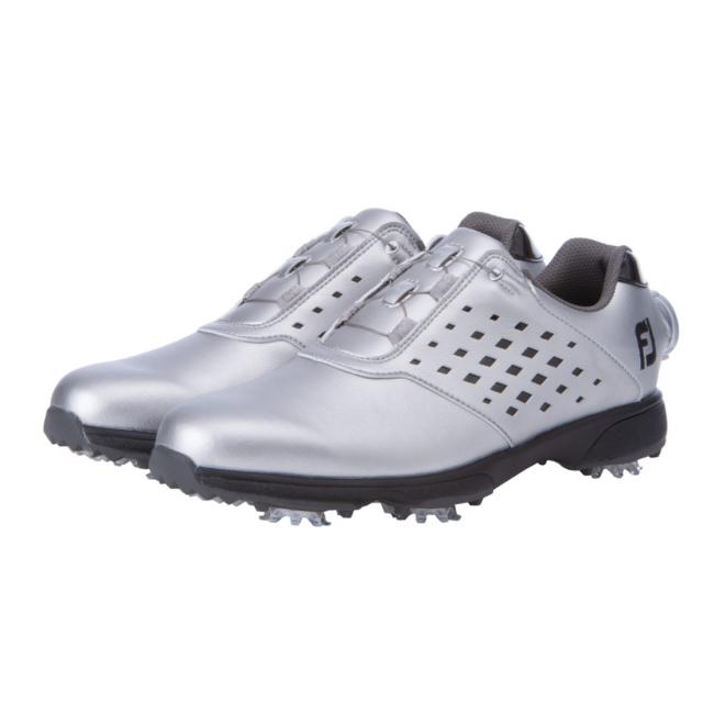フットジョイ レディース ゴルフシューズ New イーコンフォート BOA 高い素材 98638 JOY ダイヤル式スパイクシューズ FJ ゴルフ FOOT 上品 3E
