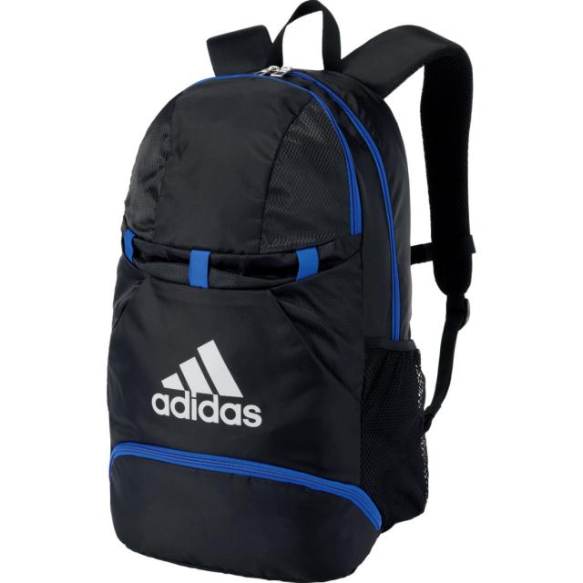アディダス ボール取り付け可能 デイパック まとめ買い特価 27L リュック ブランド激安セール会場 サック バックパック フットサル ADP28BKB adidas サッカー