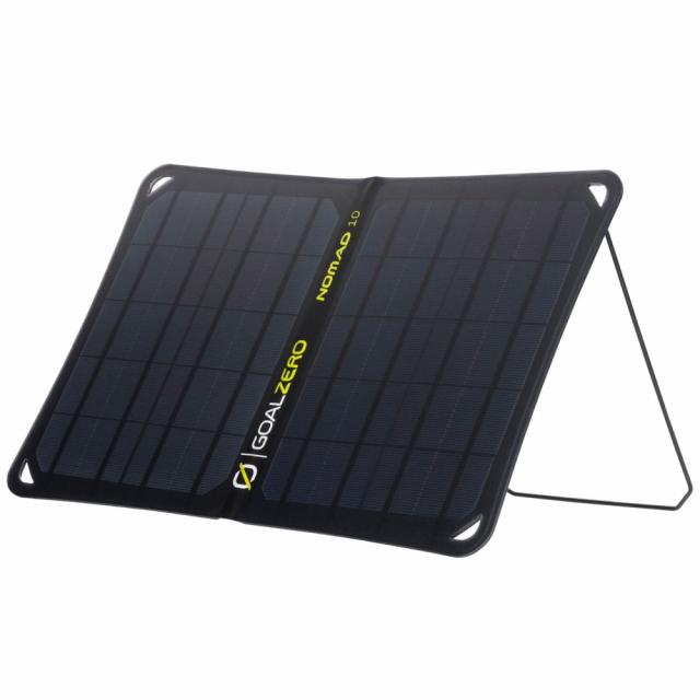 正規品 9 15 ※アウトレット品 買えば買うほど 最大10%OFFクーポン ゴールゼロ Nomad 10 V2 小物 ZERO Solar キャンプ Panel GOAL GZ-11900