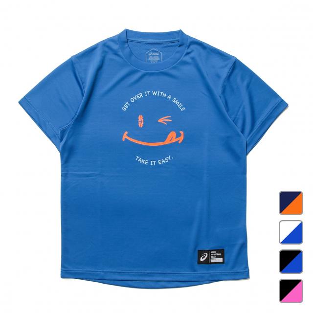 アシックス レディース バスケットボール 半袖Tシャツ 2062A048 本日限定 WSグラフィックSSトップ 商店 asics 210526BKAP