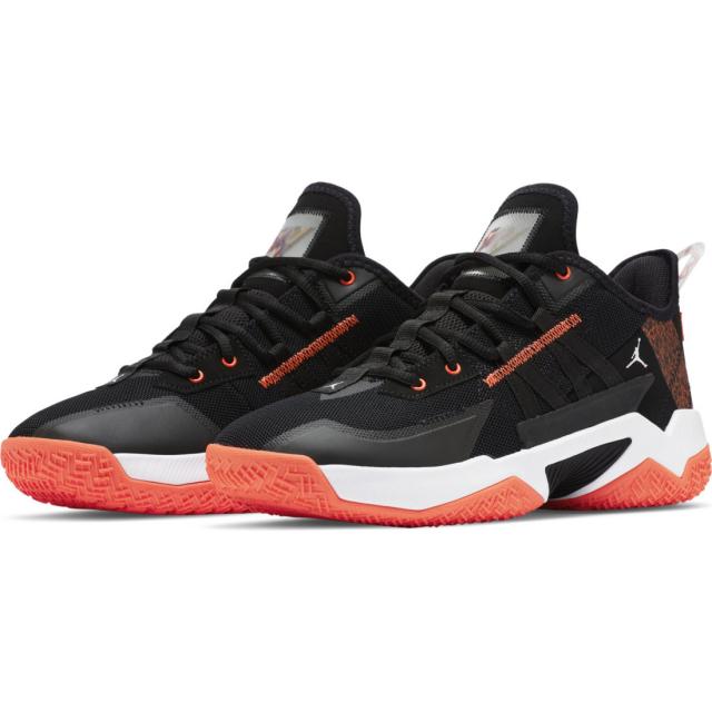 ジョーダン ワン テイク II 今ダケ送料無料 PF CW2458006 人気の製品 メンズ JORDAN バッシュ : ブラック×レッド レディース シューズ バスケットボール