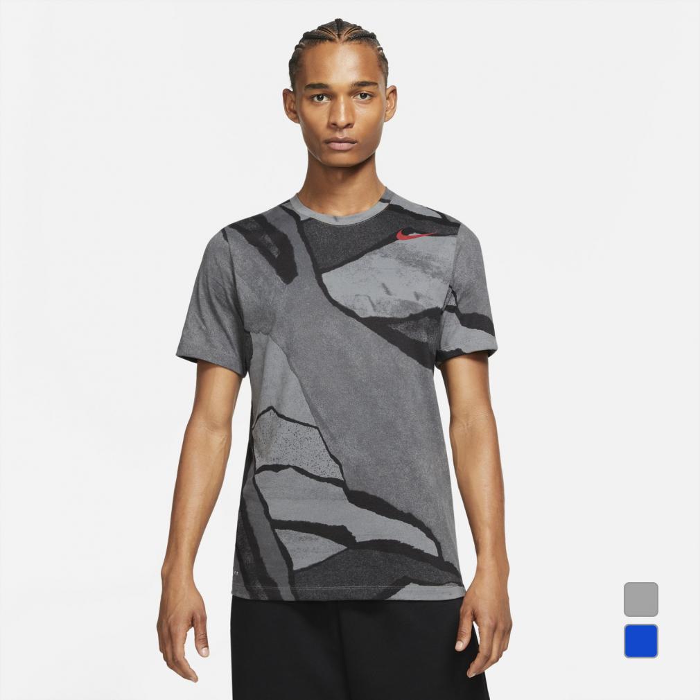 ナイキ メンズ 半袖機能Tシャツ DFC 高価値 シーズナル AOP セール 登場から人気沸騰 SU21 S スポーツウェア NIKE DA1800 21summersale 0529T Tシャツ