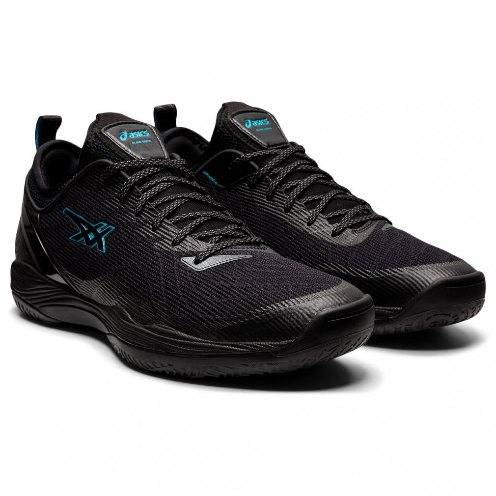 アシックス 定番から日本未入荷 グライドノヴァ 人気 おすすめ GLIDE NOVA FF 2 1061A038 メンズ シューズ asics バッシュ : ブラック レディース バスケットボール 2E
