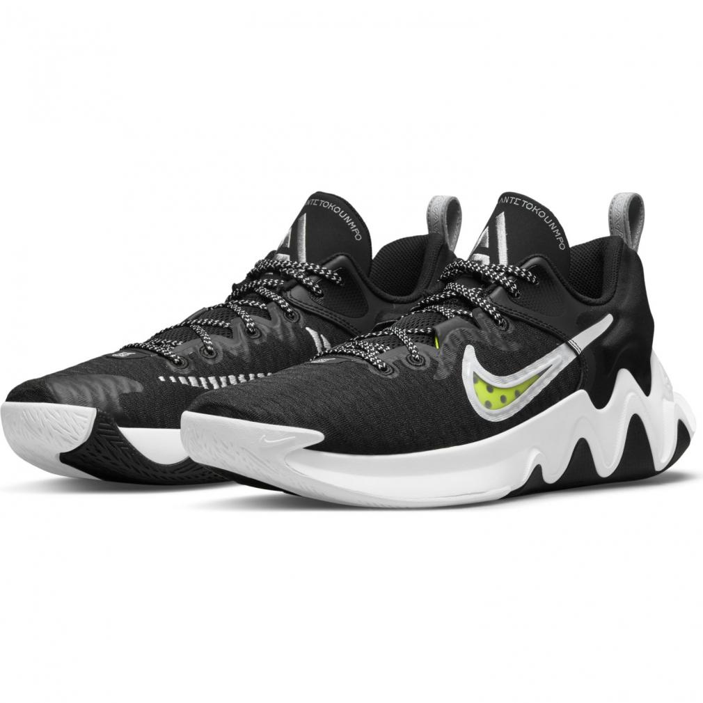 ナイキ ヤニス イモータリティ GIANNIS IMMORTALITY 大規模セール CZ4099010 メンズ バッシュ シューズ 高級な レディース NIKE : バスケットボール ブラック×ホワイト
