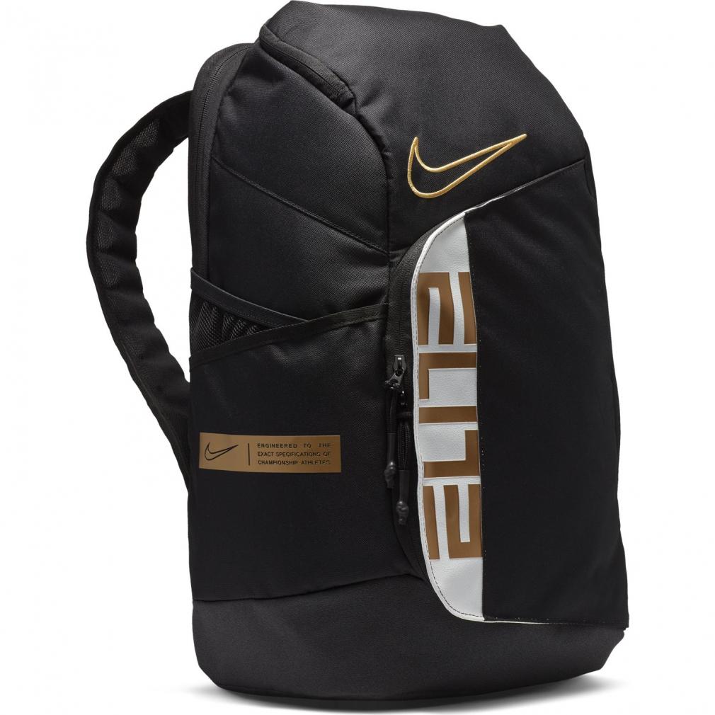 8 18 買えば買うほど 最大10%OFFクーポン ナイキ HPS エリート 信憑 プロ : BA6164 NIKE バッグ ブラック×ゴールド バックパック 全品最安値に挑戦 バスケットボール