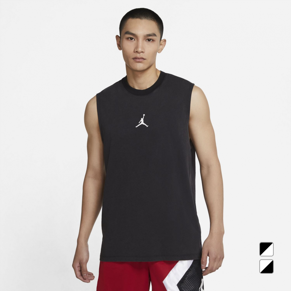 ジョーダン メンズ レディース バスケットボール ノースリーブシャツ DRI-FIT トップ S 初売り 海外並行輸入正規品 JORDAN DC3237 エア L