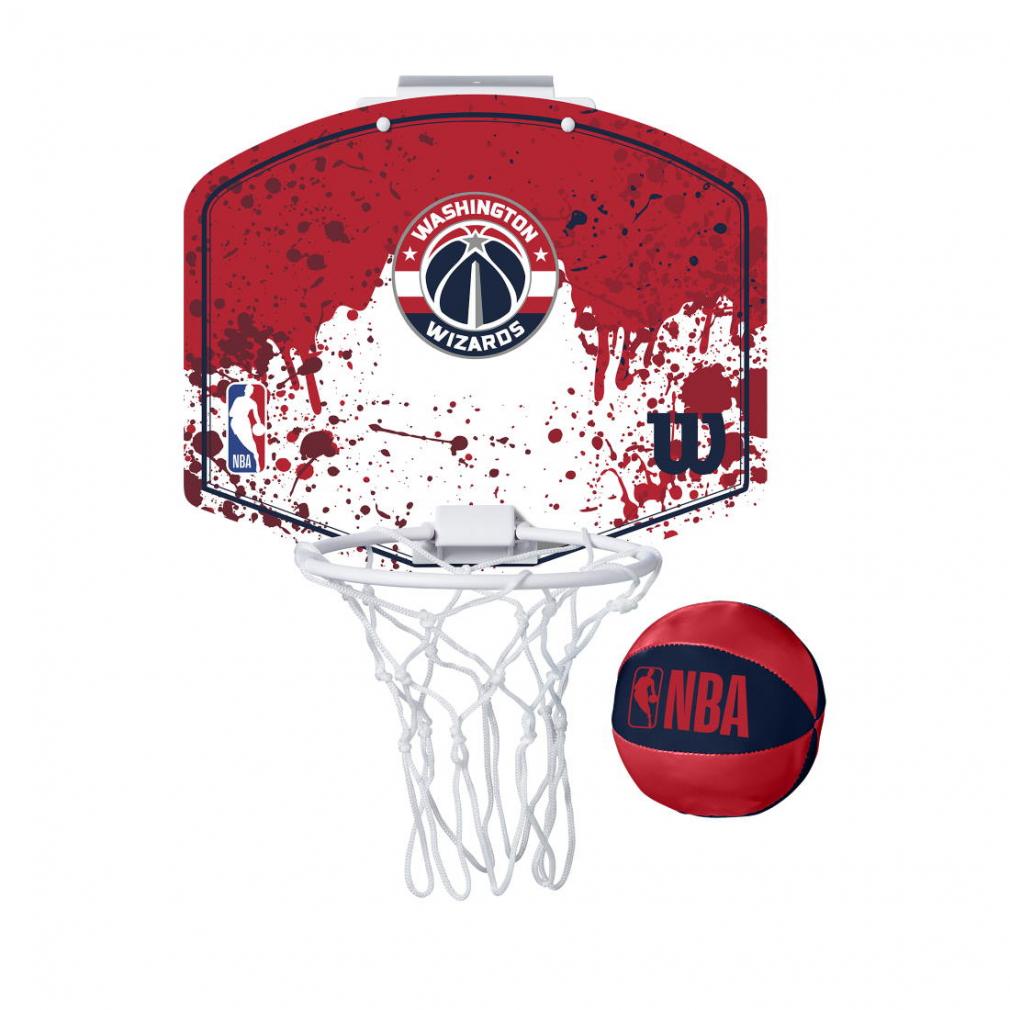 最大10%OFFクーポン お買い物マラソン限定 ウイルソン NBA OUTLET SALE ミニフープ 一部予約 ワシントン ゴールリング Wilson ウィザーズ バスケットボール A1302WAS